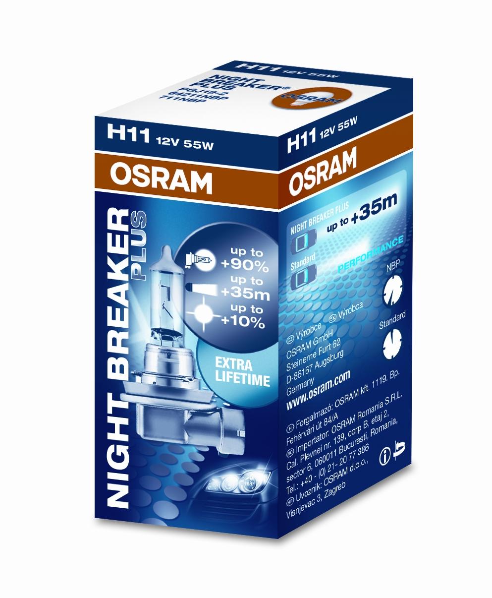 osram night breaker plus 12v up to 90 more light up to 10 whiter light 3600k mk led. Black Bedroom Furniture Sets. Home Design Ideas