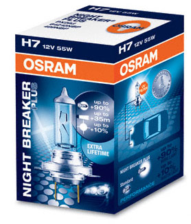 osram night breaker plus 12v up to 90 more light up. Black Bedroom Furniture Sets. Home Design Ideas