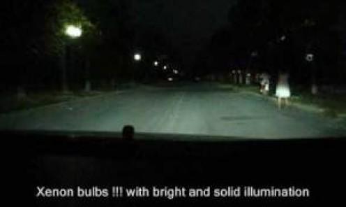 Halogen Vs Xenon lights