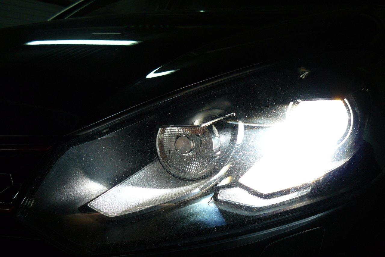 Golf GTI VI - Xenon 6000K + LED 5000K