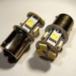 BA15S (P21W) 9 SMD LED žarulja