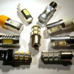 P21W, PY21W, PWY24W, P21/5W, P21/4W, P27/7W, W21W, WY21W, W21/5W, W16W, R10W, R5W, H21W LED žarulje