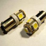 BAX9S BA9S SMDx5 LED