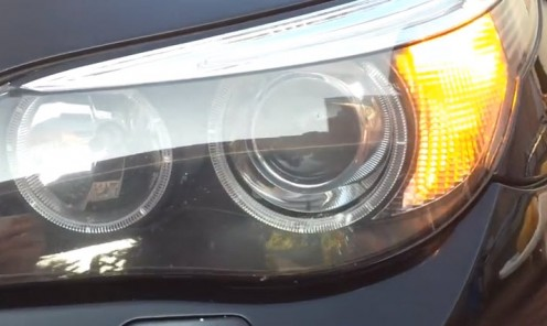 BMW E60 sa 6W LED žmigavcima