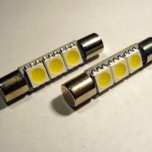 C5W SMDx3 LED uska