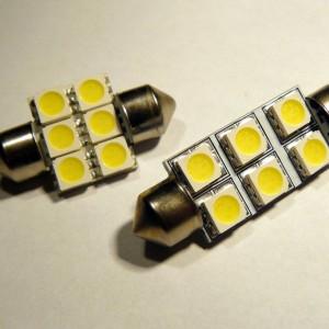 C5W SMDx6 LED