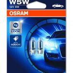 Osram Cool Blue Intense T10 (W5W) 12V – 4000K Xenon Look