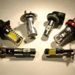 H1, H3, H7, H8, H10, H9, H11, H16, H27, HB4, PS19W, P13W, PW24W & PSX26W LED bulbs for fog lights, cornering lights & DRLs