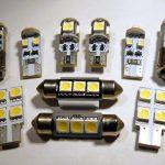 T10, C5W, T4W, H6W, H21W CANBUS SMD LED bulbs