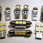 T10, C5W, T4W, H6W, H21W CANBUS SMD LED žarulje