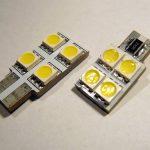 T10 (W5W) SMDX4 CANBUS LED