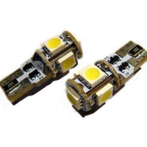 T10 (W5W) SMDX5 CANBUS G2 LED