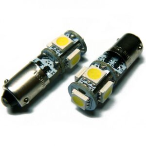 BAX9S (H6W) SMDx5 CANBUS G2 LED