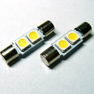 C5W SMDx2 LED uska