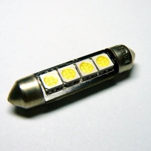 C5W SMDx4 LED 42mm