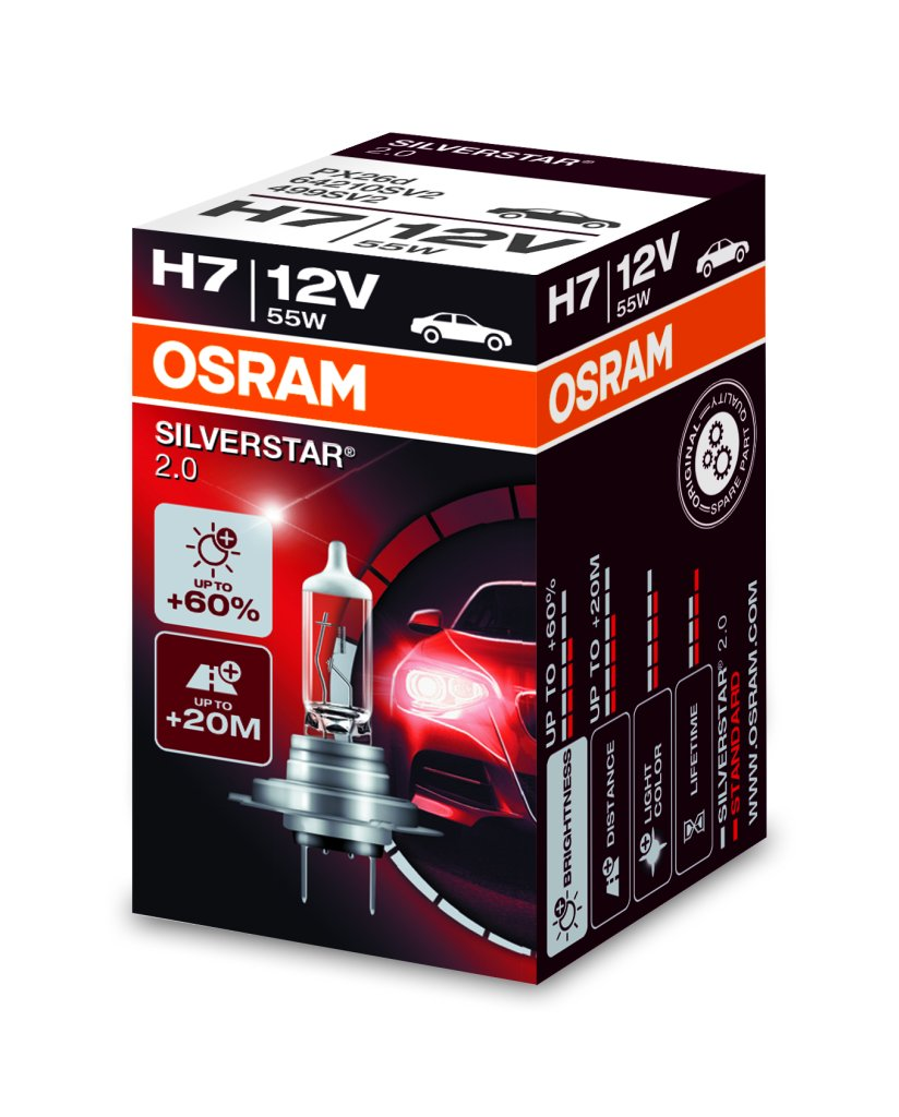 osram silverstar 2 0 12v do 60 vi e svjetla mk led. Black Bedroom Furniture Sets. Home Design Ideas