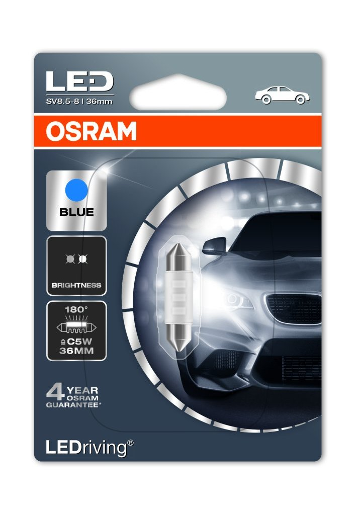 osram ledriving standard festoon c5w led bulb mk led. Black Bedroom Furniture Sets. Home Design Ideas