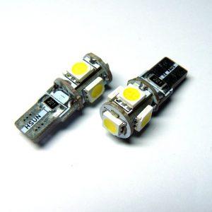 T10 SMDX5 CANBUS LED