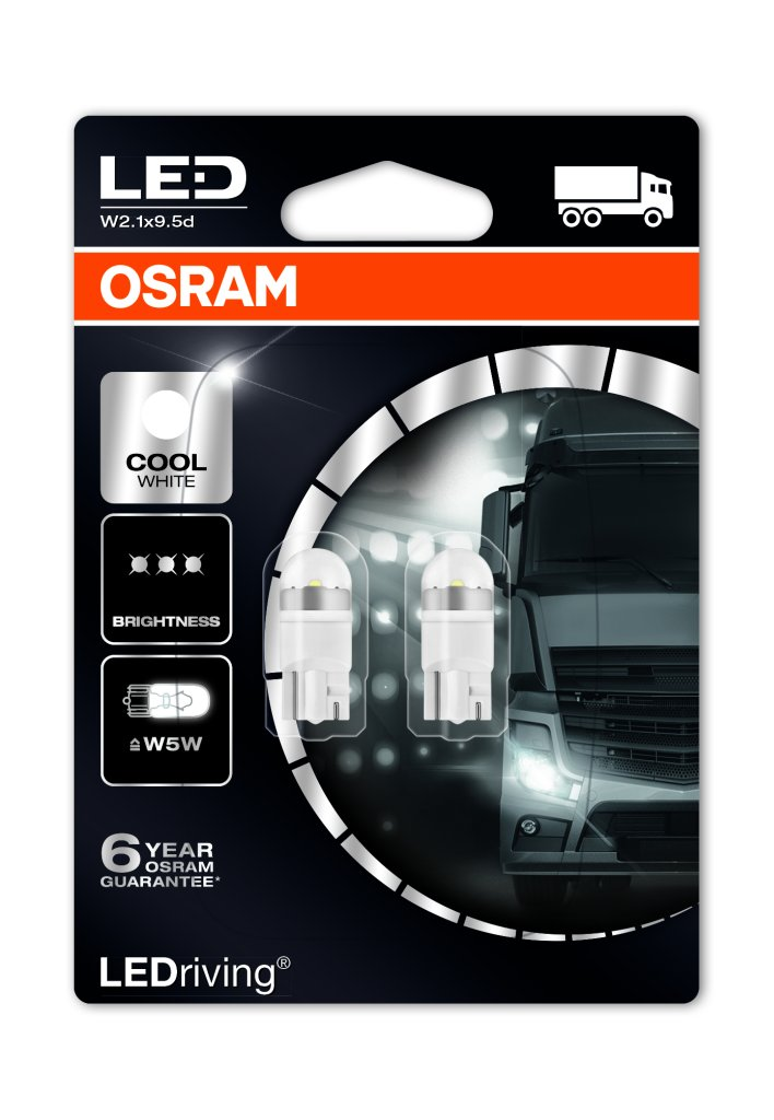 Osram Ledriving Premium W5w T10 Led Bulbs Mk Led Auto