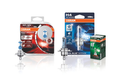 Osram halogen product family