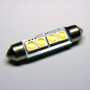 C5W SMDx4 LED CANBUS 42mm