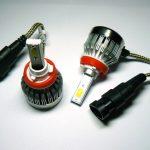 COB C1 LED Headlights kit H8 H9 H11 H16