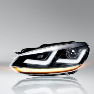 LEDriving XENARC Golf VI Chrome headlights LED signal light and LED position light