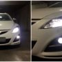 Mazda 6 GH LUMILEDS H11 K6T + Osram LEDriving FOG + T10 LED collage 2
