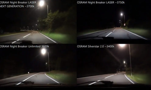 OSRAM Night Breaker LASER NEXT GENERATION 2018, LASER 1st Gen, Unlimited, Silverstar 2.0