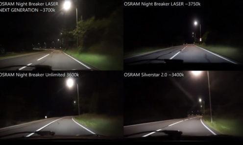 OSRAM Night Breaker LASER NEXT GENERATION 2018, LASER 1st Gen, Unlimited, Silverstar 2.0