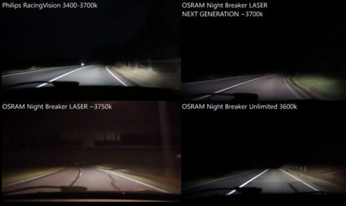 Philips RacingVision, OSRAM Night Breaker LASER NEXT GENERATION 2018, LASER, Unlimited