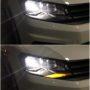 VW Caddy 2K FL2 K6F H4 bi-LED headlights + LED indicators on off
