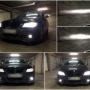 BMW E90 LCI M8X LED kit + LED markers + HB4 V10 fog lamps collage