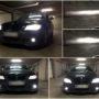 BMW E90 LCI M8X LED kit + LED markers + HB4 V10 fog lamps collage