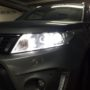 Suzuki Vitara 3 LUMILEDS K6F low beams + T10 LED position bulbs side 1