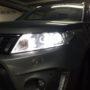 Suzuki Vitara 3 LUMILEDS K6F low beams + T10 LED position bulbs side 1