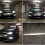 VW Golf 7 with V10 H8 LED fog lamps collage