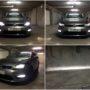 VW Golf 7 with V10 H8 LED fog lamps collage