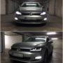 VW Golf 7 Osram LEDriving Chrome headlights + V10 LED fog lights collage 2