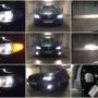 BMW F10 H7 M8X LED headlight kit low beam +V10 H7 high beam + V10 H8 fog lights +PY24W side direction indicators