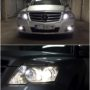 Mercedes Benz GLK CANBUS xenon HID kit low beam + T10 CANBUS position bulbs + Osram Night Breaaker Laser high beam + V10 LED fog lights collage 2