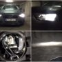 Audi A4 B8.5 Avant M8X H7 low beam + PSX26W LED DRL lights collage