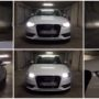 Audi A3 8V H7 M8X LED low beam + T10 CANBUS position + H15 V10 high beam and DRL collage