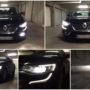 Renault Talisman M8X H7 LED low beam + V12 H16 LED fog lamps collage