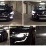 Renault Talisman M8X H7 LED low beam + V12 H16 LED fog lamps collage