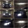 Mazda 3 BM sedan M3P H11 LED kit low beam + H15 V10 LED kit high beam & DRL + H11 V10 LED fog lamps + T10 LED bulbs for position light collage