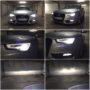 Audi A5 B8.5 Sportback D3S Yeaky 5500K xenon bulbs + Osram H8 LEDriving fog Gen2 collage