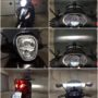 Piaggio Beveryl ST 300 V13 LED H7 low + high beam + LED licence plate collage
