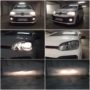 VW UP GTI Osram Cool Blue Intense H4 low-high beam HB4 fog lamps + Osram Diadem Chrome PY21W side indicators collage