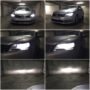 VW Passat B7 Osram H7 LEDriving Gen2 low beam + H7 V12 high beam + T10 LED position bulbs collage